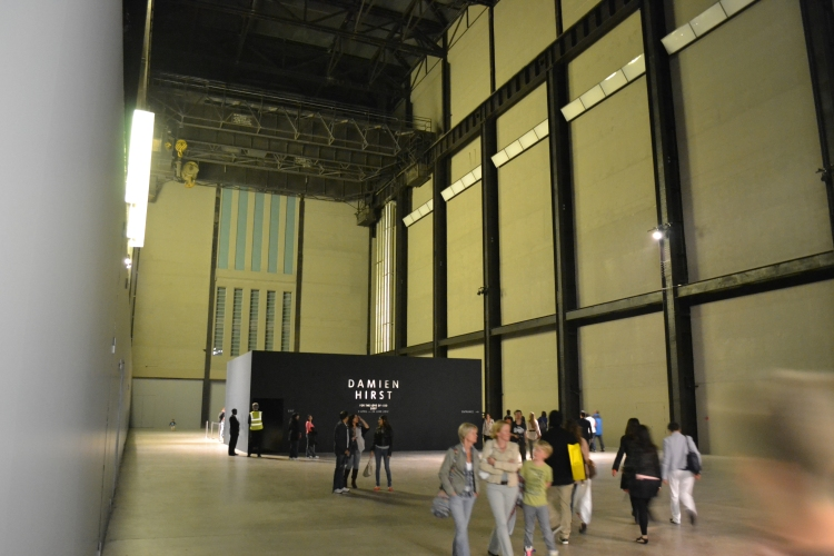 For the Love of God in the Turbine Hall