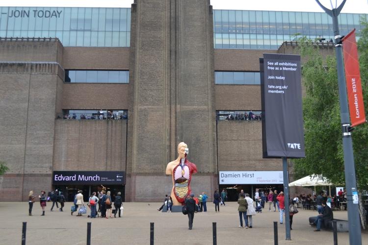Damien Hirst @ The Tate Modern